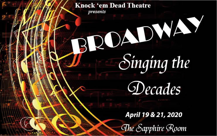Broadway singing the decades